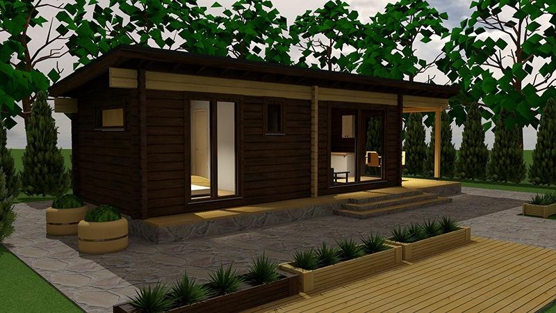 Drvena kuća Kide 30