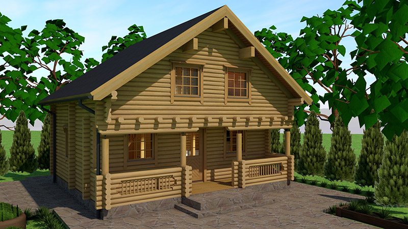 Drvena kuća Aamutahti 105